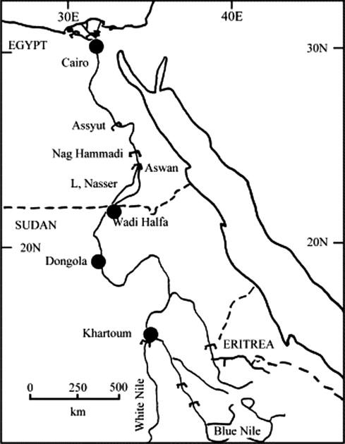 Predicting Morphological Changes Ds New Naga Hammadi Barrage For