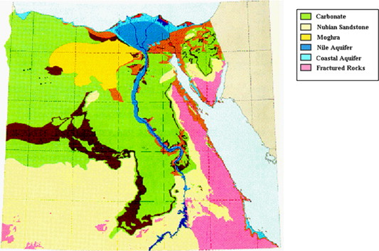 An Overview Of Integrated Remote Sensing And GIS For Groundwater - Groundwater prospect map of egypt's qena valley