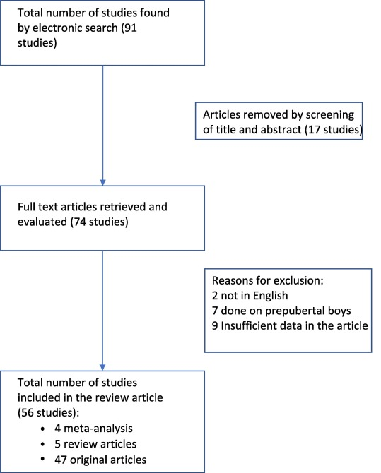 Systematic review of hormone replacement therapy in the