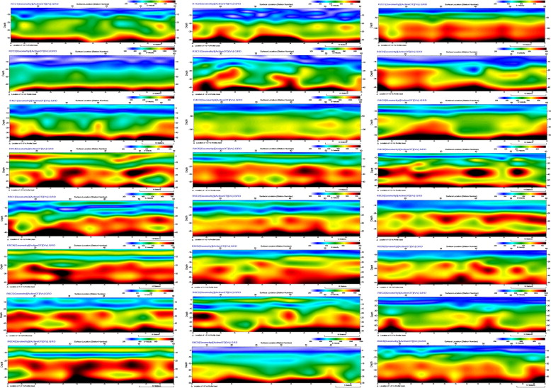 Site-specific shear wave velocity investigation for geotechnical