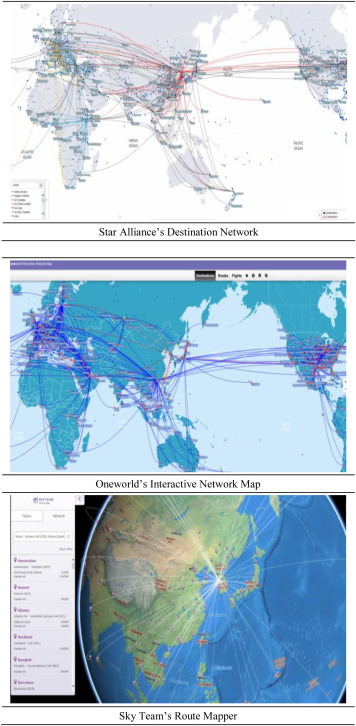 Analysis of the Air Transport Network Characteristics of Major ...