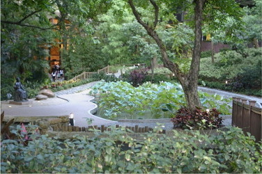 healthy campus by open space design approaches and guidelines