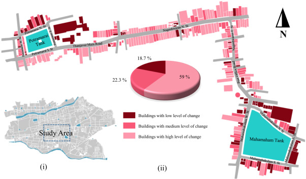 Effects of urbanization on historical heritage buildings in