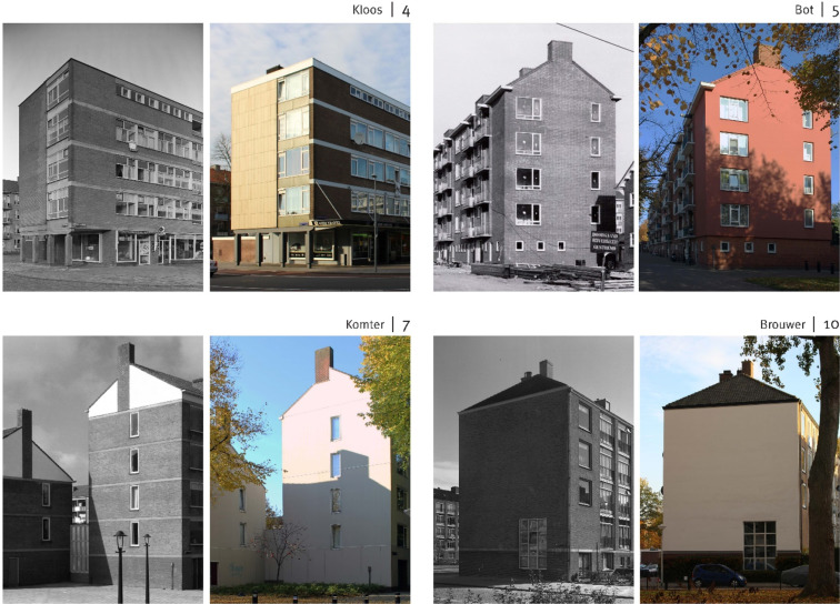 Heritage Attributes Of Post War Housing In Amsterdam Sciencedirect