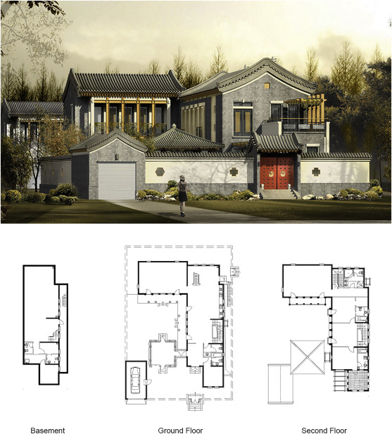 Parametrising Historical Chinese Courtyard Dwellings An Algorithmic Design Framework For The Digital Representation Of Siheyuan Iterations Based On Traditional Design Principles Sciencedirect