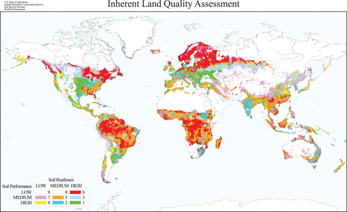 Soil and Land Resources for Agricultural Production: General Trends ...