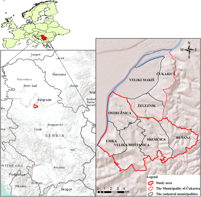 Spatial Assessment Of The Areas Sensitive To Degradation In The