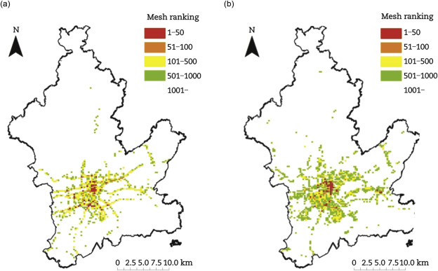 Development and application of traffic accident density estimation ...