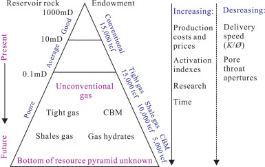Shale gas reservoirs: Theoretical, practical and research issues