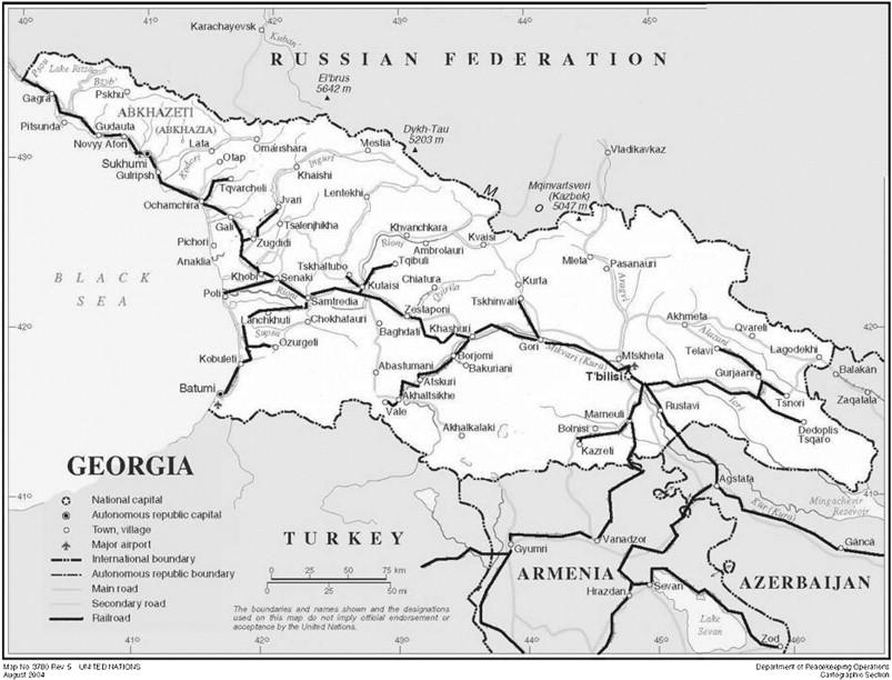 the georgian railways source httpwwwunorgdeptscartographicmapprofilegeorgiapdf railways enhanced