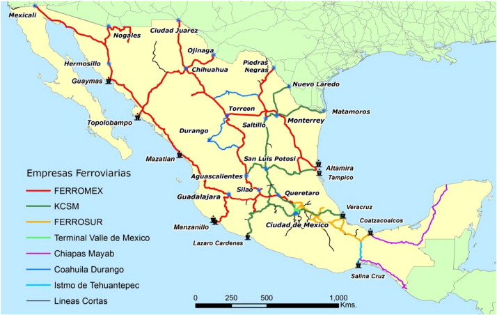 Privatization Of Mexican Railroads Fifteen Years Later Sciencedirect