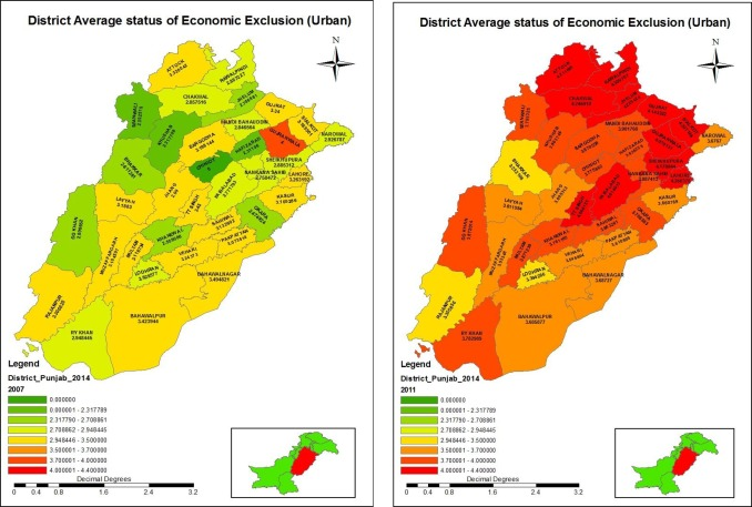 Marginality and social exclusion in Punjab, Pakistan: A