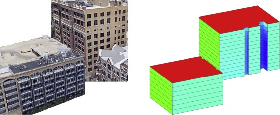 Fusing TensorFlow with building energy simulation for
