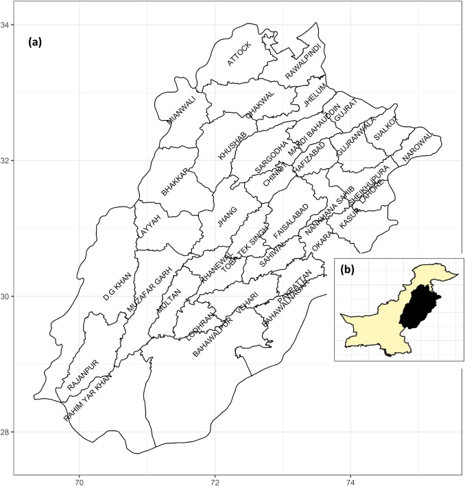 Spatial distribution and opportunity mapping: Applicability