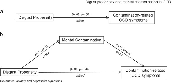 Disgust propensity and contamination-related OCD symptoms