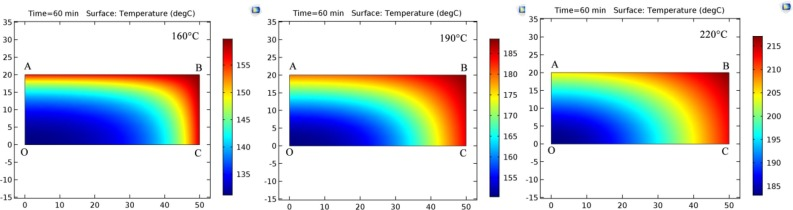Modeling and simulation of heat-mass transfer and its