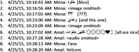 The translingual digital practices of Saudi females on