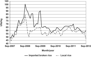 Reversing urban bias in African rice markets: A review of 19