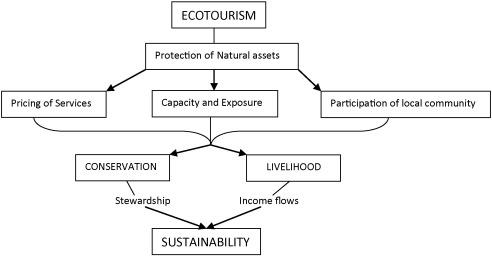 The village as a social entrepreneur: Balancing conservation