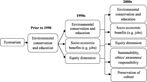 Contextualising the meaning of ecotourism - ScienceDirect