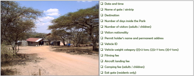 Tourist traffic simulation as a protected area management tool  The