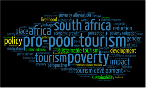 A scientometric review of pro-poor tourism research: Visualization