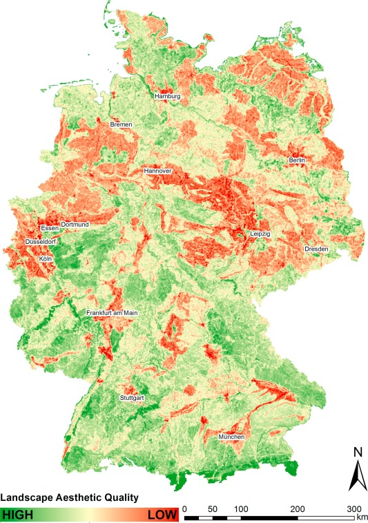 Assessing The Aesthetic Quality Of Landscapes In Germany Sciencedirect