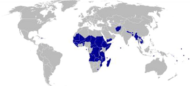 Droughts in asian least developed countries vulnerability and map of the world ldcs source wikipedia wikipedia gumiabroncs Choice Image