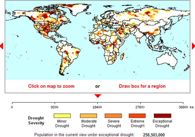Droughts in Asian Least Developed Countries: Vulnerability