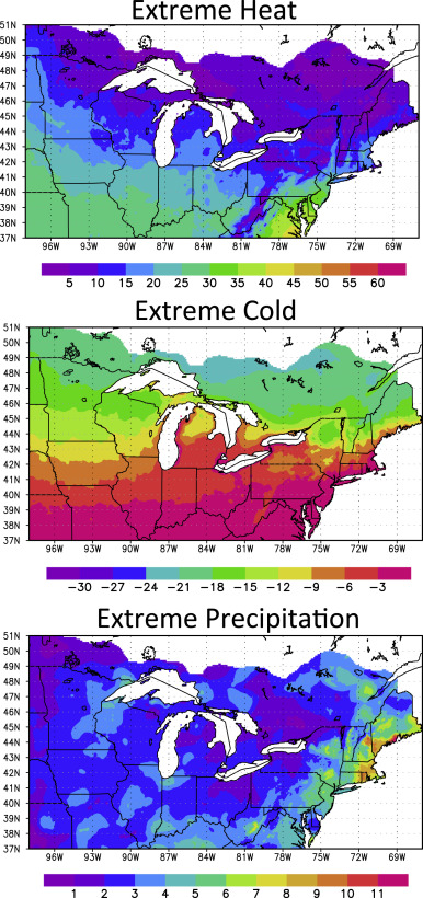 Interpreting climate model projections of extreme weather