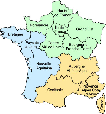 Map Of Drop Zones In France.Natural Disasters Over France A 35 Years Assessment Sciencedirect