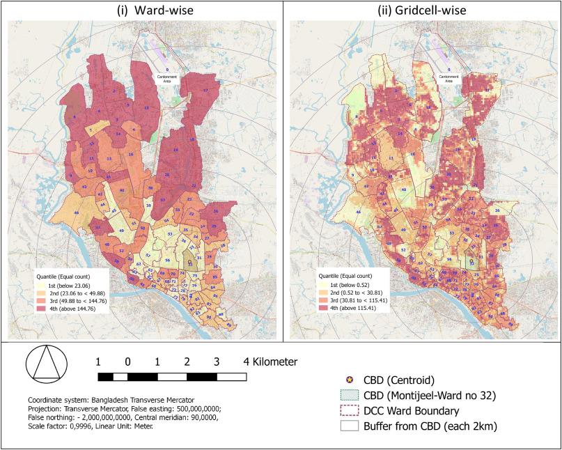 A geospatial approach of downscaling urban energy