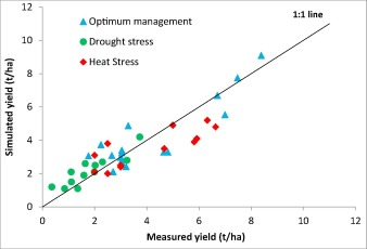 Potential benefits of drought and heat tolerance for adapting maize