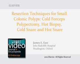 Resection Techniques for Small Colonic Polyps: Cold Forceps
