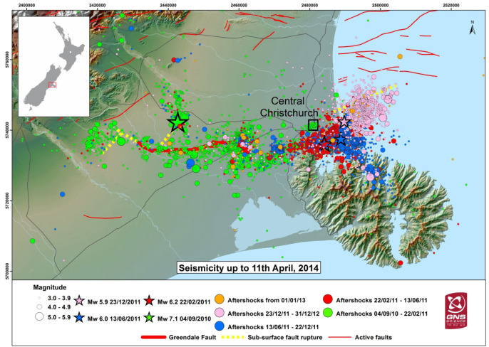 An overview of the impacts of the 20102011 Canterbury earthquakes