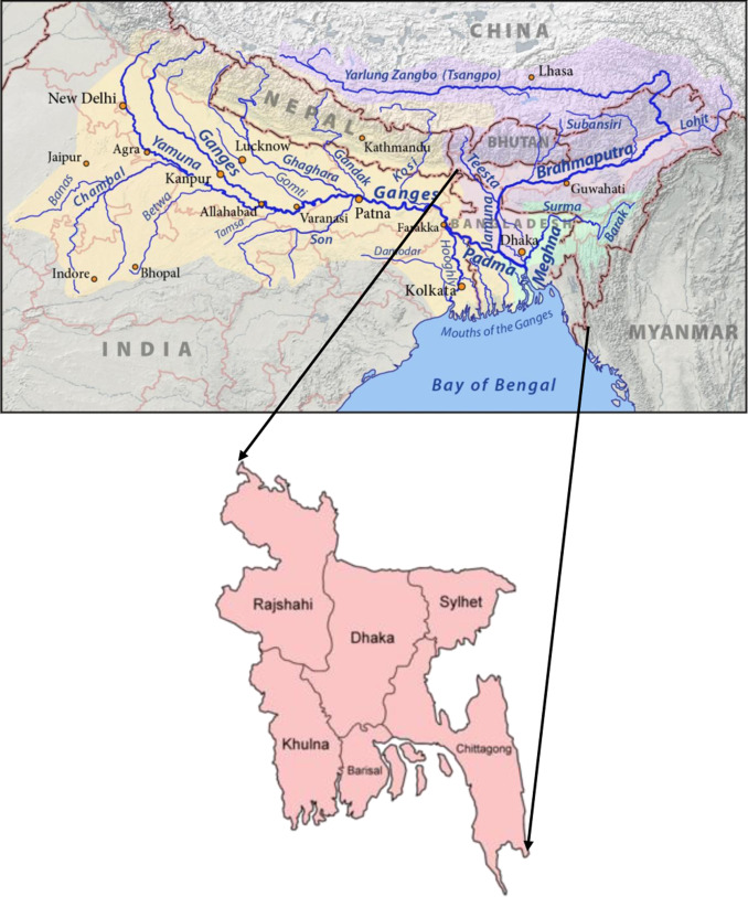 Impact Of Flood Disasters In Bangladesh A Multisector Regional - Epoc maps illistrating us history