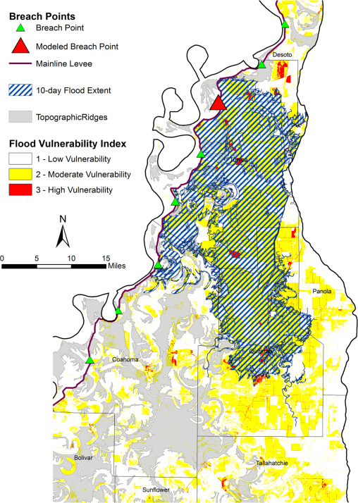 Flood vulnerability indices and emergency management planning in the