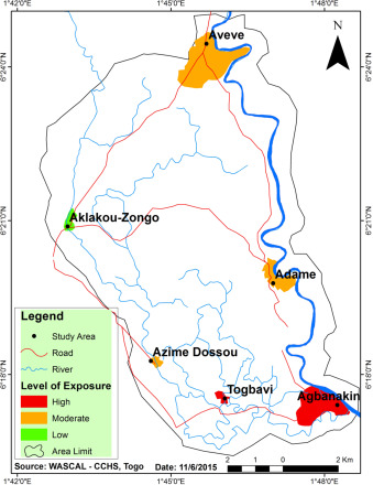 Flood disaster risk mapping in the Lower Mono River Basin in Togo