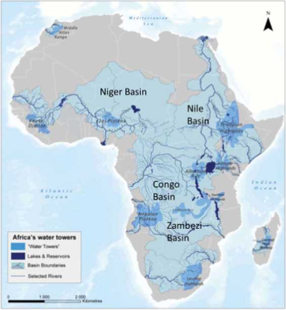 Flooding in African cities, scales of causes, teleconnections