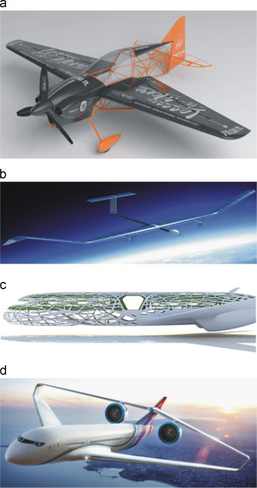 Light-weighting in aerospace component and system design