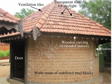 Thermal comfort in traditional buildings composed of local