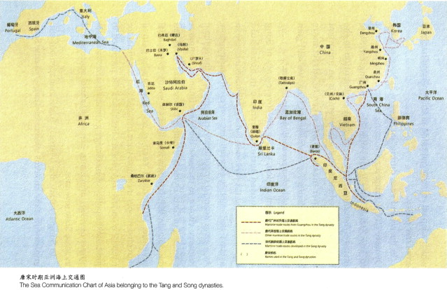 Map Of Asia Yellow Sea.The China Seas In World History A General Outline Of The Role Of