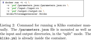 Kliko—The scientific compute container format - ScienceDirect