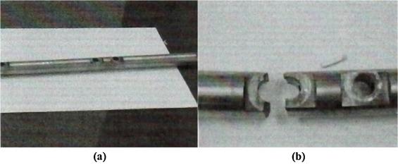 Analysis of a failed rocker arm shaft of a passenger car