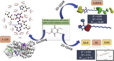 QSAR modeling of benzoquinone derivatives as 5-lipoxygenase