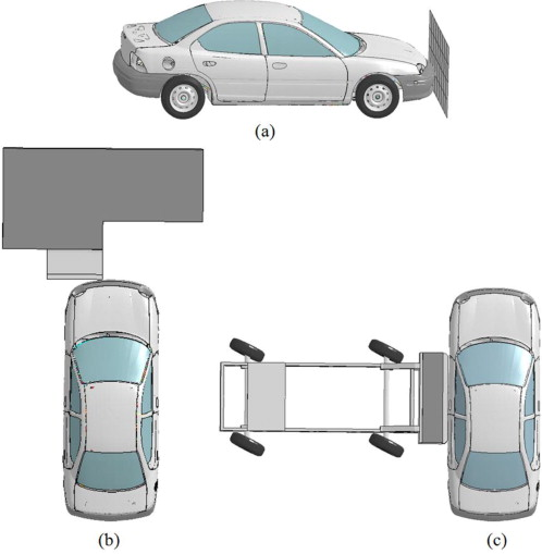 Design of lightweight magnesium car body structure under crash and