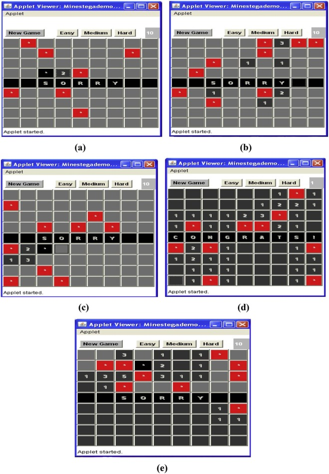 A minesweeper game-based steganography scheme - ScienceDirect
