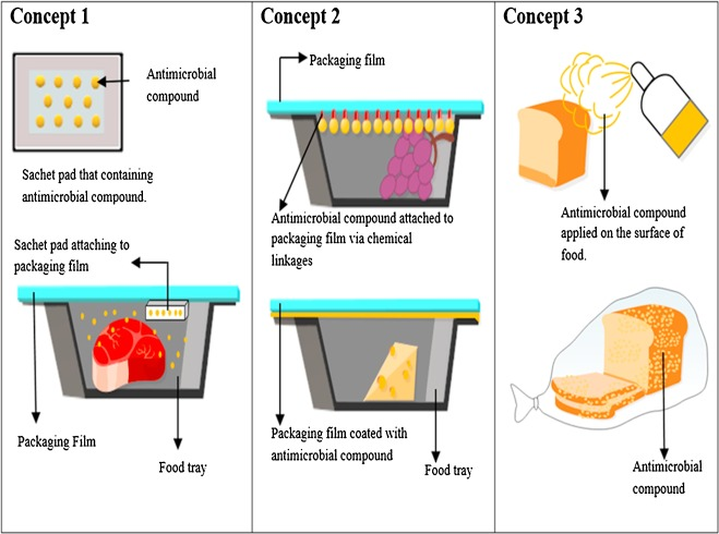 Antimicrobial poly(lactic acid)/cellulose bionanocomposite for food