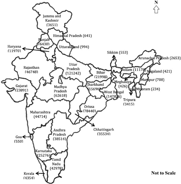 Status of wetlands in india a review of extent ecosystem benefits map showing state wise number of wetlands in india note figure in parenthesis represents total number of wetlands in respective state thecheapjerseys Images