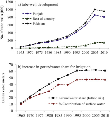 Econometric estimation of groundwater irrigation efficiency